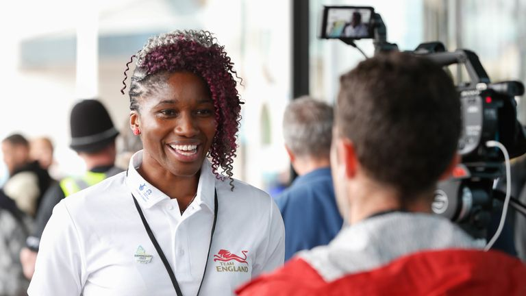 The netballer became an athlete representative on the board of Commonwealth Games England in April