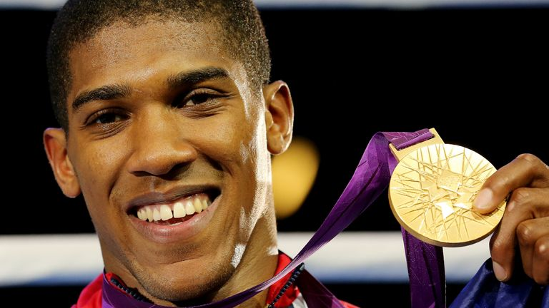 Anthony Joshua won gold at London 2012