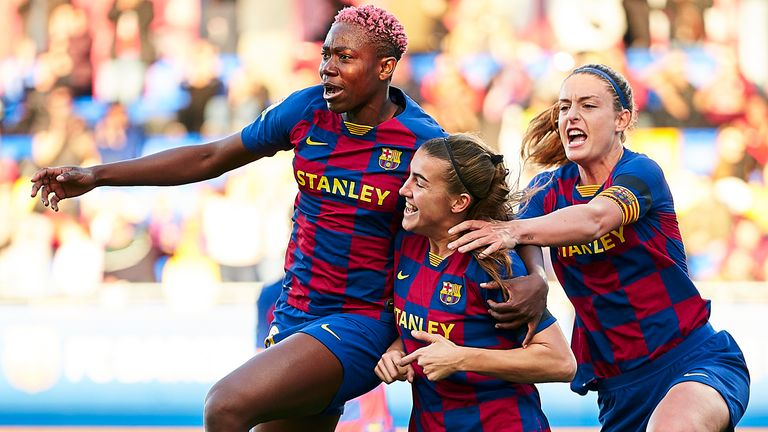 Barcelona will be chasing a double when the Copa de la Reina is concluded next season