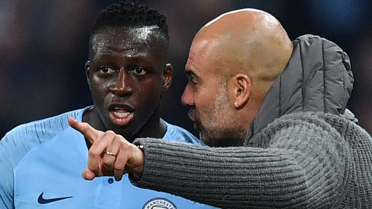 Mendy has worked under Guardiola since he joined Man City in July 2017