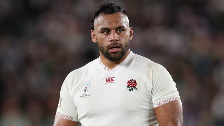 Billy Vunipola hasn't played for England since the World Cup final on November 2, 2019