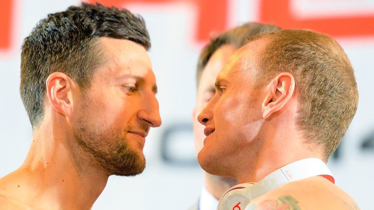 Carl Froch, George Groves