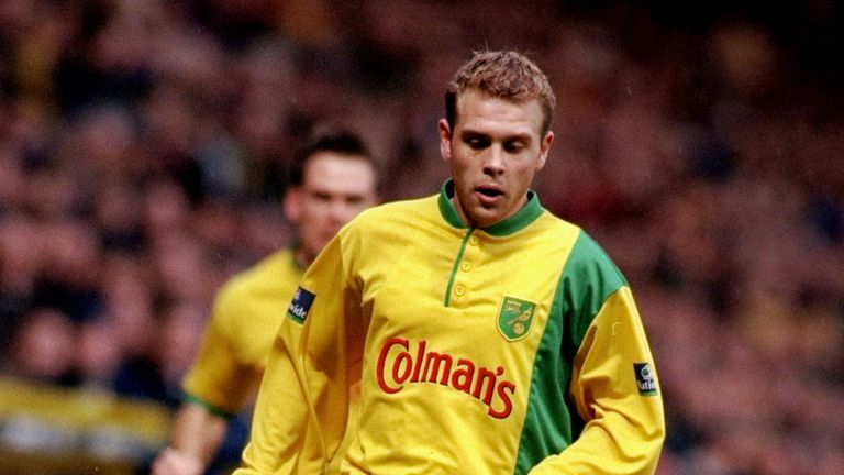 Anselin played alongside the likes of Craig Bellamy and Darren Eadie during his spell at Norwich
