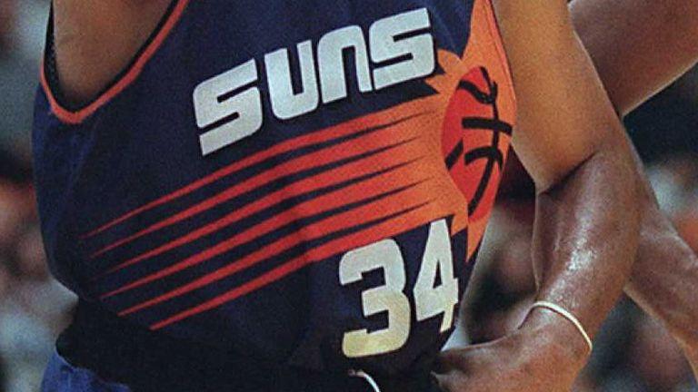 Charles Barkley's iconic No 34 Phoenix Suns jersey