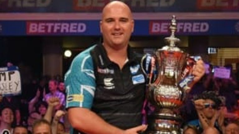Rob Cross is due to defend his title in Blackpool this summer, having beaten Michael Smith in last year's final