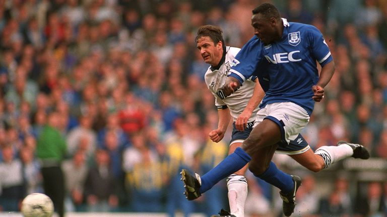 Amokachi famously substituted himself on at Elland Road - and scored twice