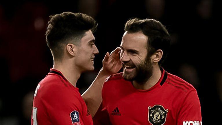 Juan Mata has made a big impression on Daniel James
