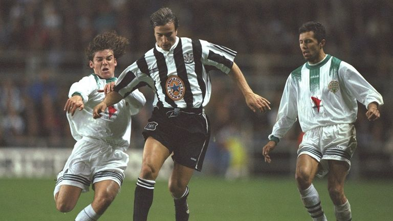 David Ginola was a hit on Tyneside - but was unable to secure any silverware for Newcastle