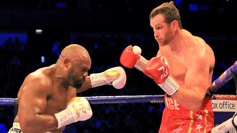 Price admits he struggled to withstand Chisora's relentless aggression