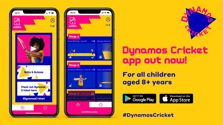 Dynamos Cricket app on behalf of ECB