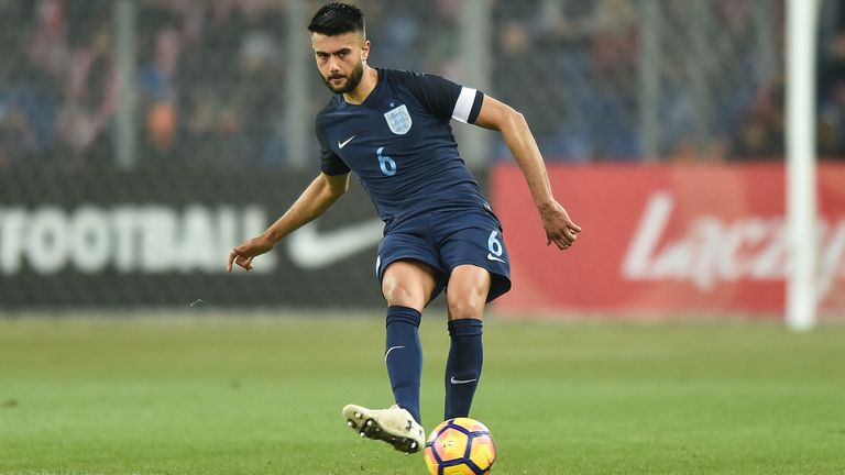 Suliman captained England at youth level