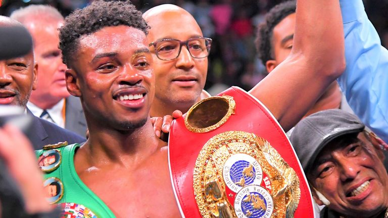 Errol Spence Jr holds the WBC and IBF welterweight titles