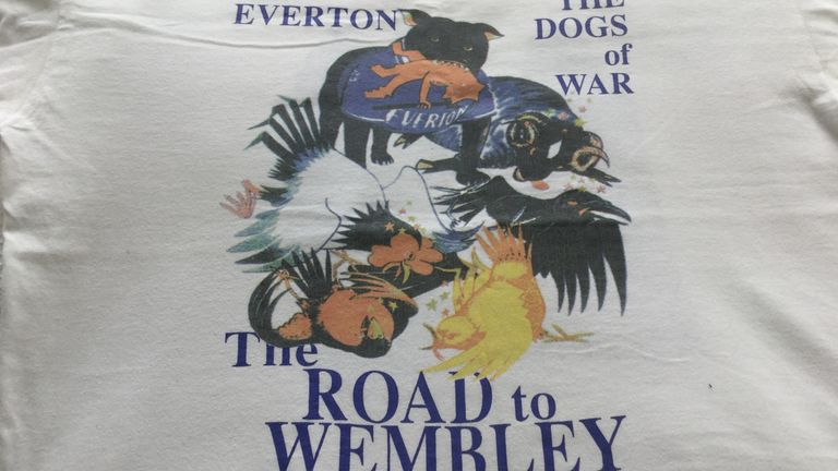 The Dogs of War t-shirt denoting the vanquished is a collector's item