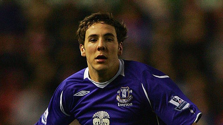 Gosling on his Premier League debut for Everton in 2008