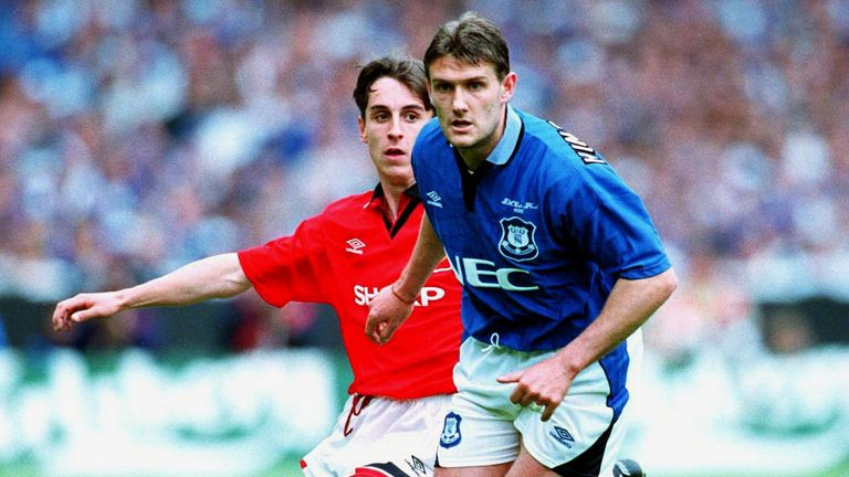 Sky Sports pundits Gary Neville and Andy Hinchcliffe both featured