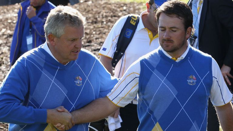 Colin Montgomerie agreed that the Ryder Cup would lose appeal with no fans