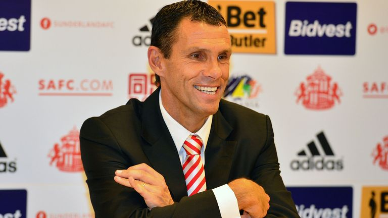 Poyet spent two years at Sunderland, leading them to the League Cup final in his first season in charge