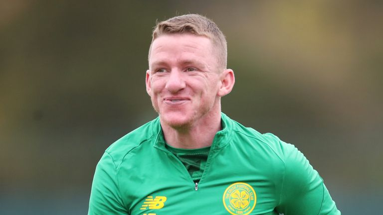 Jonny Hayes is out of contract at Celtic at the end of May