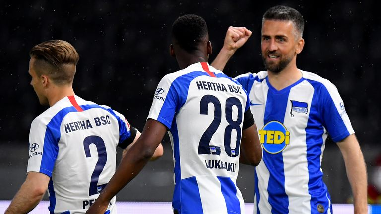Hertha Berlin made it back-to-back wins over Union Berlin