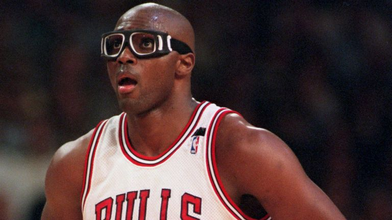 Horace Grant in action for the Chicago Bulls