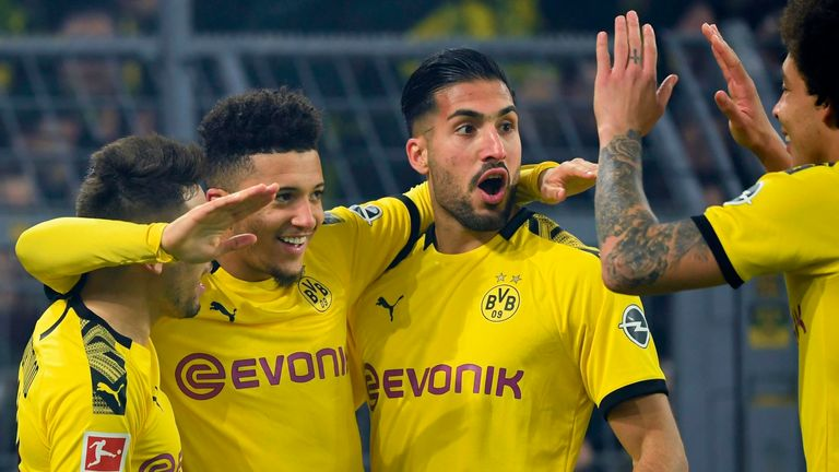 Jones Knows Back Second Half Goals For Borussia Dortmund And Rb Leipzig At 4 1 Football News Sky Sports