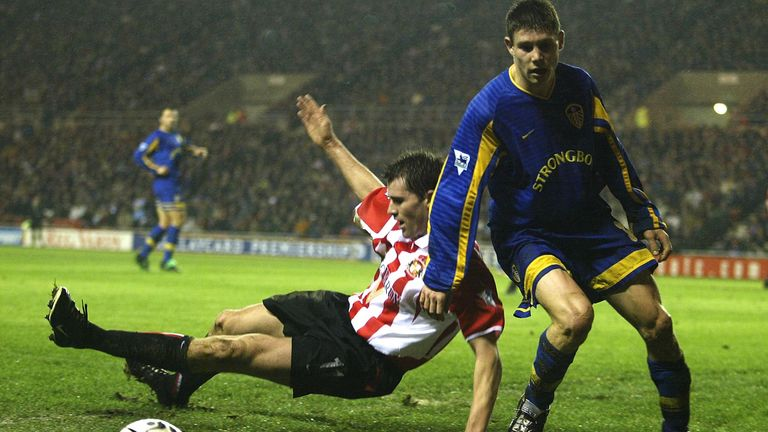 James Milner scored his first Premier League goal aged just 16