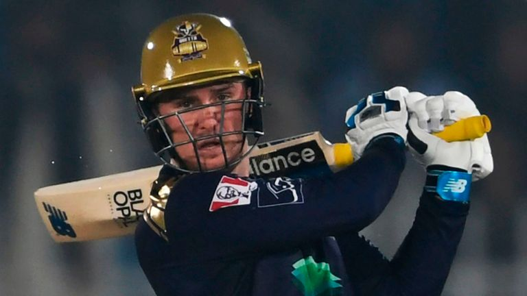 Jason Roy finished the 2020 PSL season with 233 runs at an average of 33.28 for Quetta Gladiators