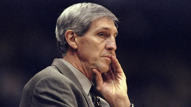 Jerry Sloan led Utah Jazz over more than two decades