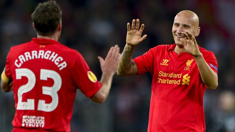 Jonjo Shelvey joined Liverpool from Charlton in 2010