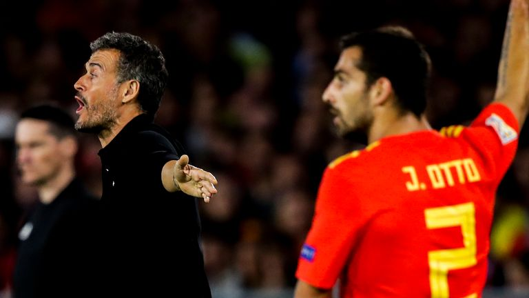 Jonny has played for Spain three times under his former club manager Luis Enrique