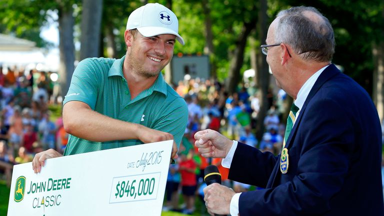 Jordan Spieth won the event in 2013 and 2015