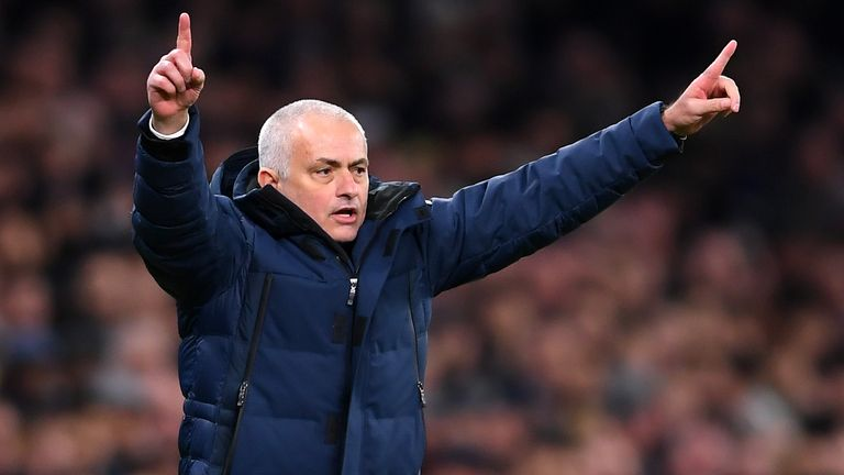 Jose Mourinho welcomes former club Manchester United to Tottenham next month