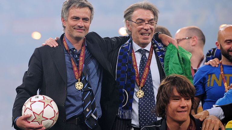 Mourinho says it was more important to win the Champions League for people such as Inter chairman Massimo Moratti than for himself
