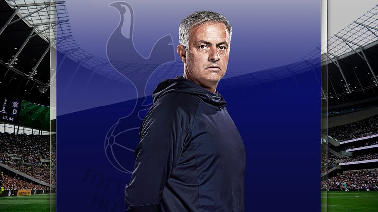 Tottenham head coach Jose Mourinho