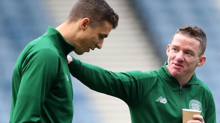 Jozo Simunovic and Jonny Hayes will leave Celtic when their deals run out