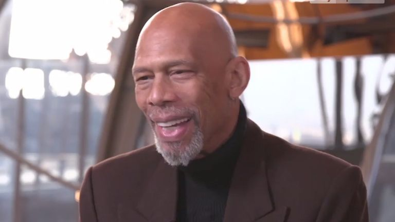 NBA legend Kareem Abdul-Jabbar discusses his career, his achievements and his commitment to social activism with Sky Sports NBA's Max Whittle