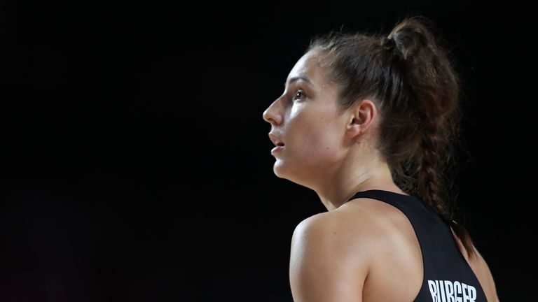 Karin Burger won a Netball World Cup within a year of her Silver Ferns debut