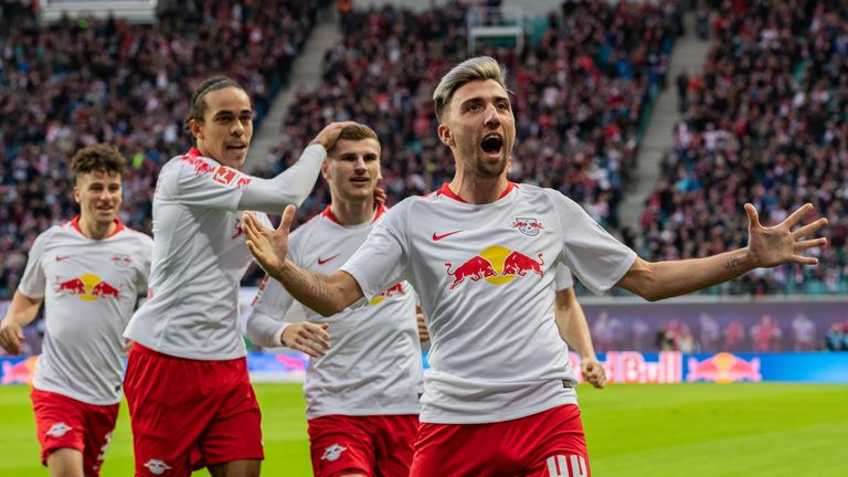 Kevin Kampl is the pick to score first at 12/1