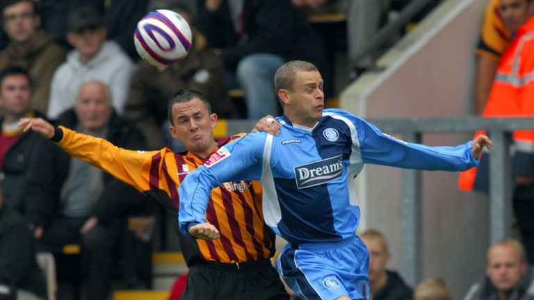 Nix made more than 60 appearances for Bradford in his two seasons there