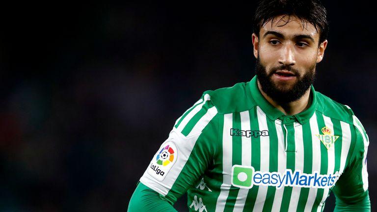 Nabil Fekir's Real Betis side sit 12th in La Liga