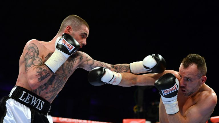 Ritson won a four-round decision against Laight
