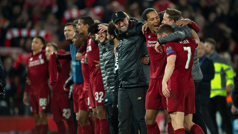 Enrique has been impressed by the margin of dominance established by Liverpool in the Premier League this season