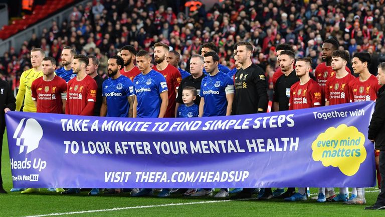 A series of campaigns prior to the coronavirus pandemic have encouraged players to open up more about mental health issues