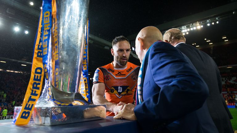 The Super League trophy eluded Gale and his Castleford team-mates in the 2017 Grand Final