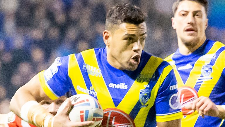 Luther Burrell has been helped by his prior rugby league knowledge