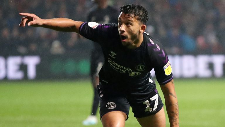 Macauley Bonne scored twice on the final day at Leeds to keep Charlton up. according to our Football Manager simulation