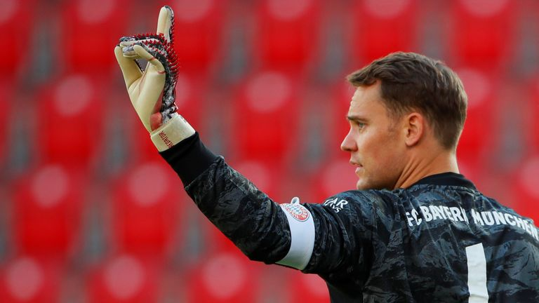 Manuel Neuer returned to action with Bayern Munich on the weekend