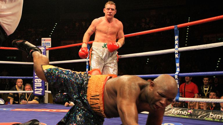 Matt Skelton was stopped as Rogan claimed the Commonwealth title