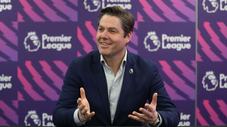 Richard Masters took permanent charge as the Premier League's chief executive in December