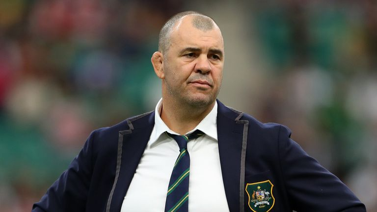 Michael Cheika failed to guide Australia to World Cup success in Japan